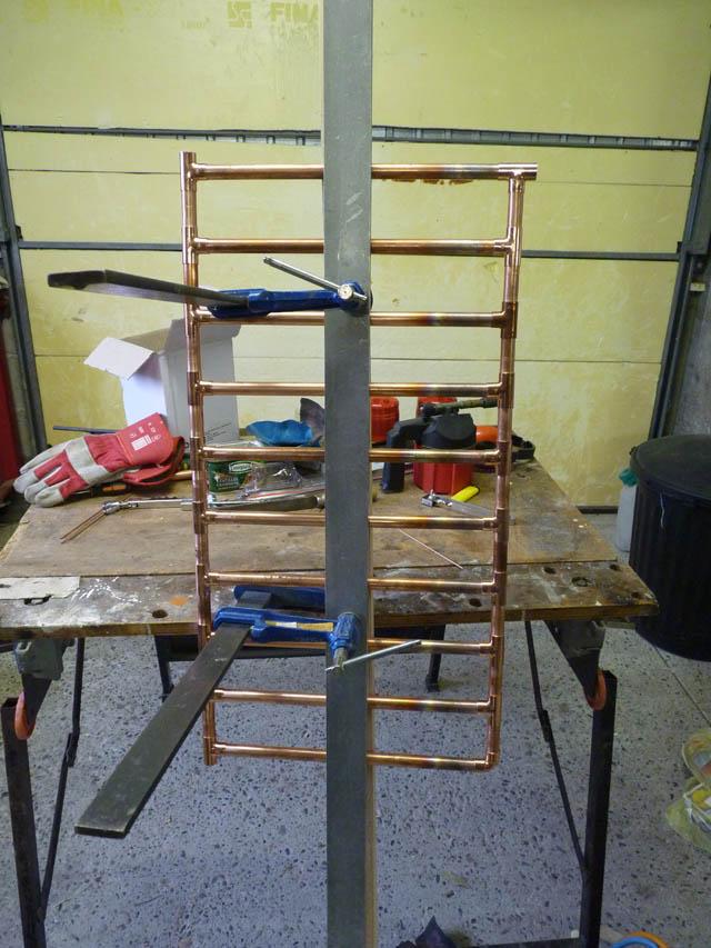 Fabrication Radiateur Type Seche Serviettes Casa Trotter